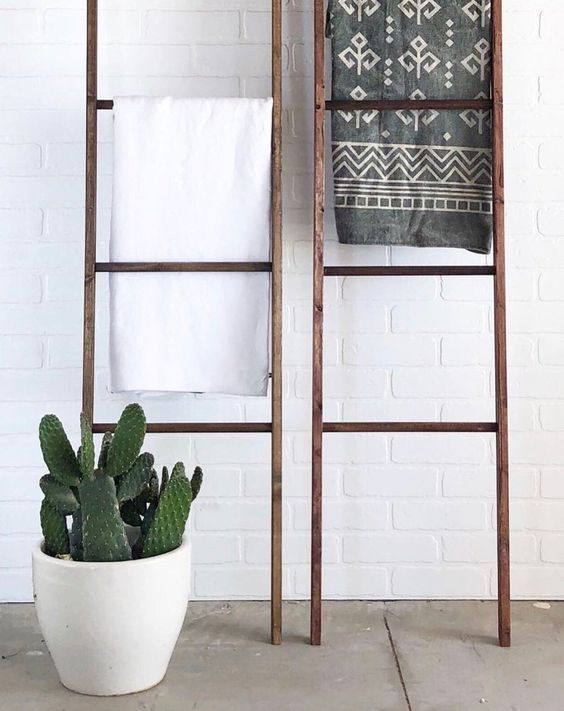 Upcycling-tip: van ladder tot droogrek