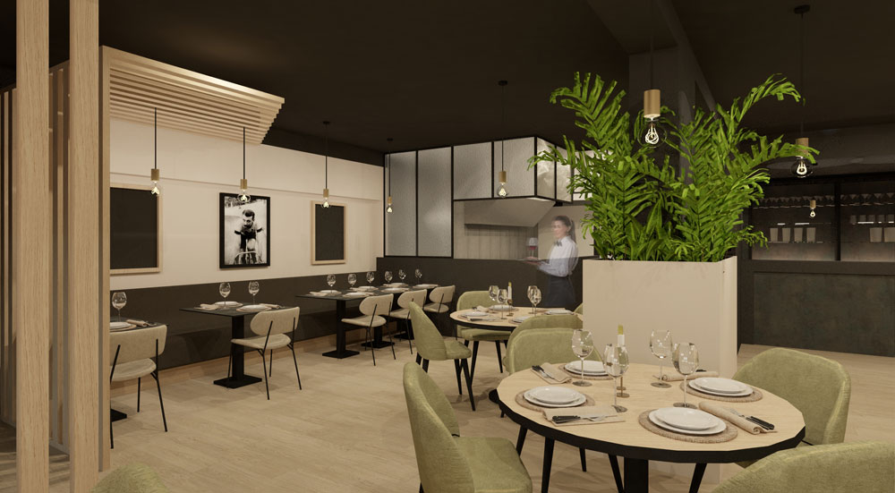 Totaalproject restaurant Roeselare